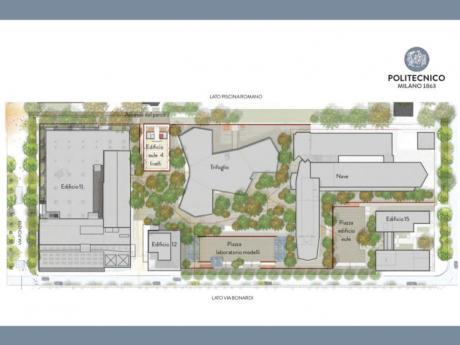Progetto Renzo Piano Politecnico