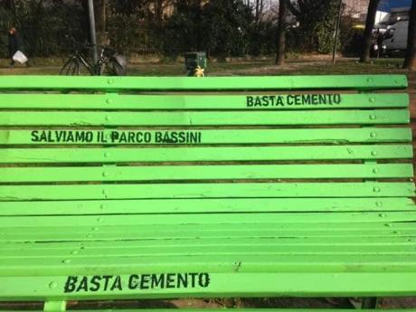 panchina verde 2