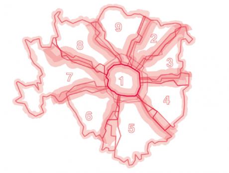 nuove zone metropolitane