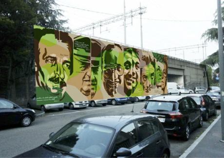 Murale della legalita