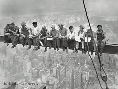 rockfeller cemter 1932