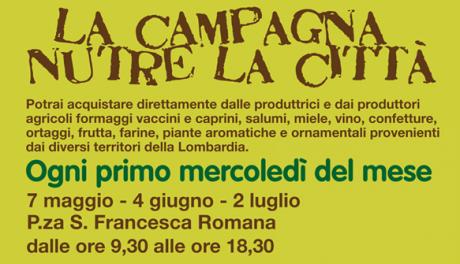 La campagna nutre la citta Piazza Francesca Romana