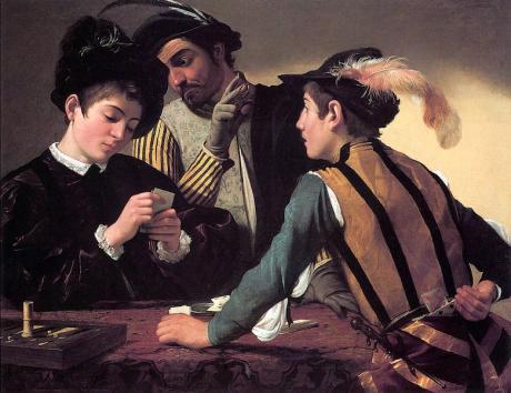 Caravaggio   I bari