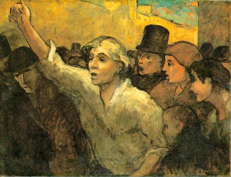 Daumier   La rivolta