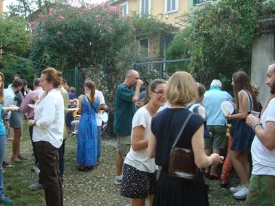 festa in cortile